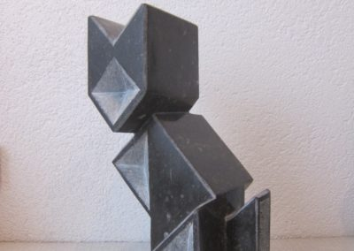 Tangram Cat 3D