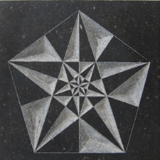 Tableau # VIII – Pentagram